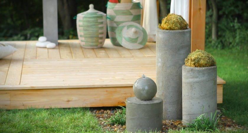 Build Outdoor Zen Garden Water Fountain Youtube