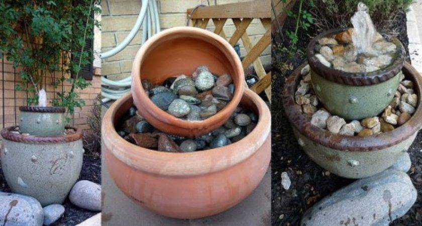 Build Your Own Custom Outdoor Fountain Feature Planitdiy