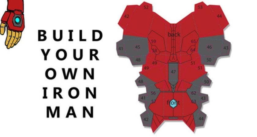 Build Your Own Iron Man Incentive Invincible