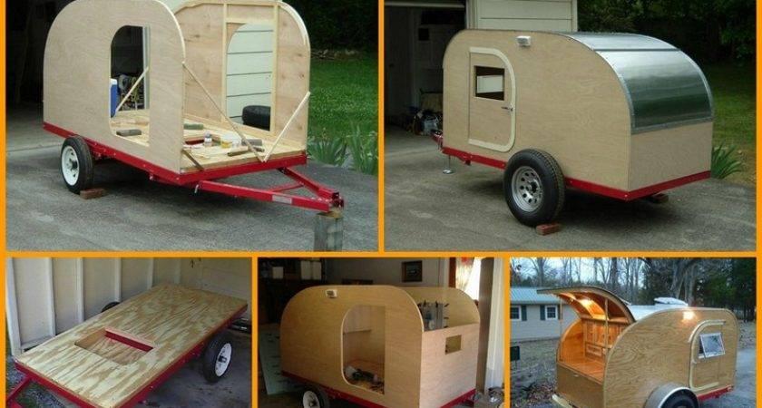 Build Your Own Teardrop Micro Camping Trailer Diy Cozy Home