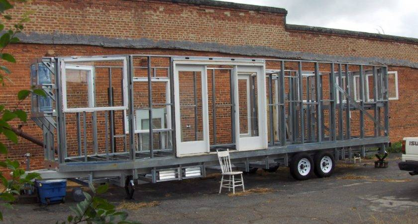 Building Home Made Solar Powered Travel Trailer Ground