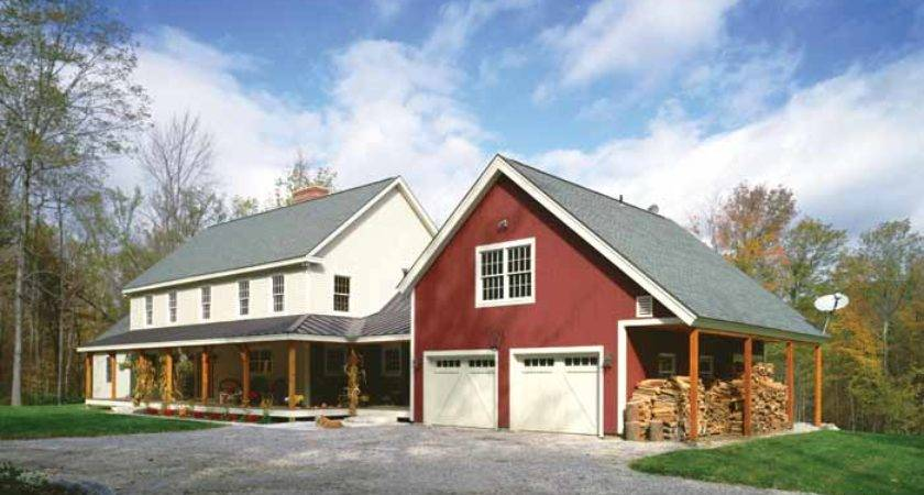 Built Vermont Farmhouse Features Welcoming Porch