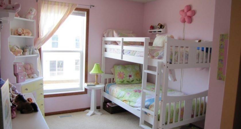 Bunk Beds Girls Room Design Ideas White