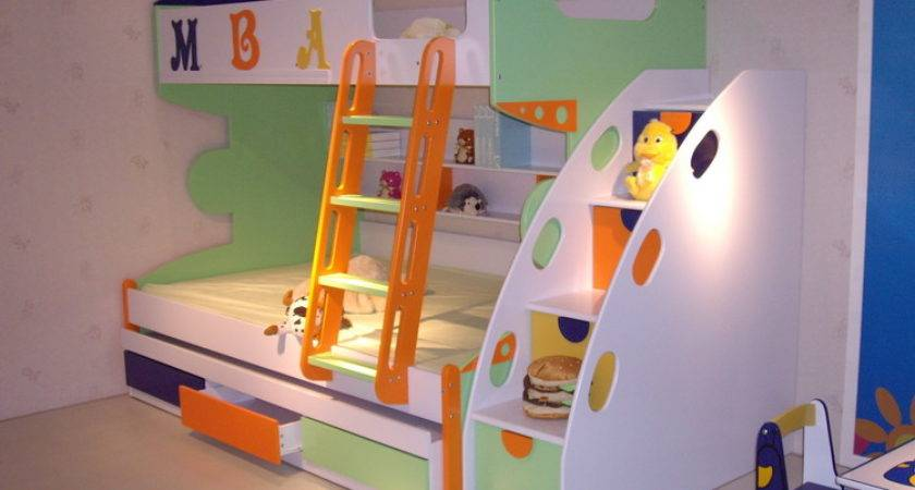 Bunk Beds Your Kids Room Modern Childrens Bed Design Ideas