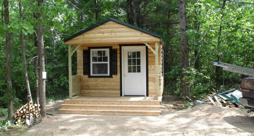 Bunkie Prefab Cabins Bunkies Log