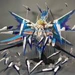 Busou Shinki Gundam Angel Fencer Pearl Oorbellen Custom Build