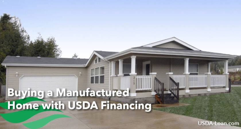 Buying Manufactured Home Usda Financing Loan
