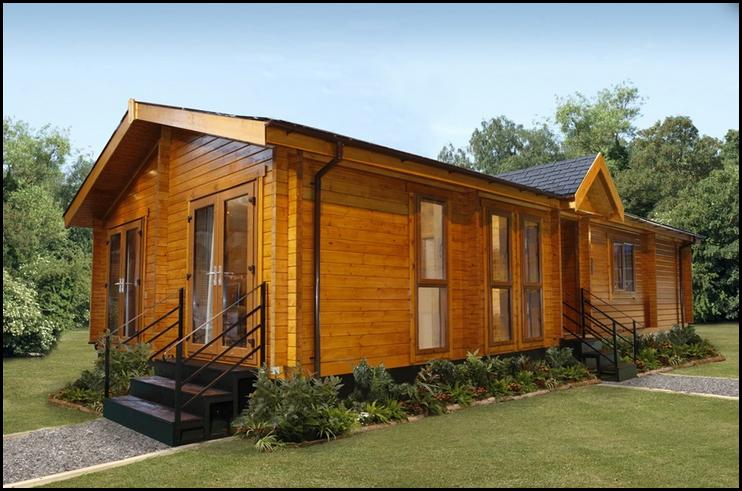 Cabin Style Mobile Homes Fallcreekland Log