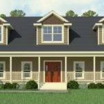 Cape Cod Modular Home Greenbier Floorplan Classic