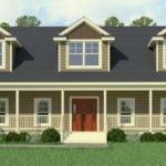 Cape Cod Modular Home Greenbier Floorplan Classic
