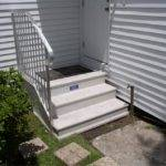 Century Three Tread Precast Concrete Stoop Handrail