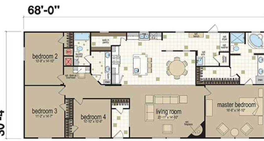 Champion Homes Double Wide Bedroom Manufactured Home