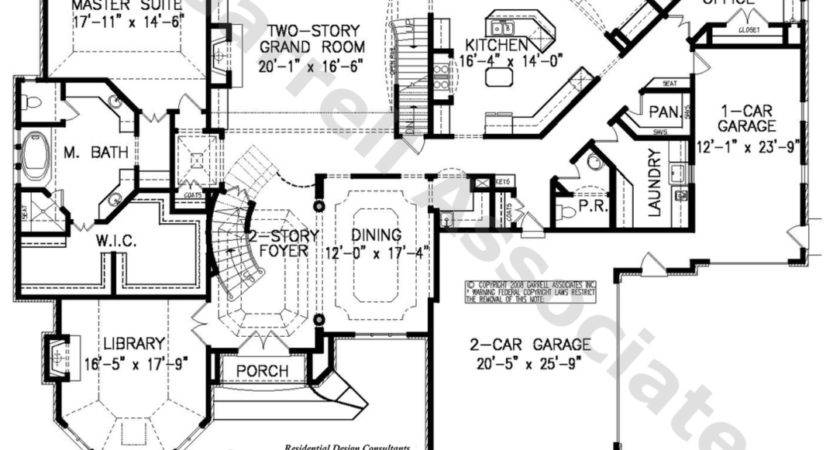 Chateau House Plan Home Design Style