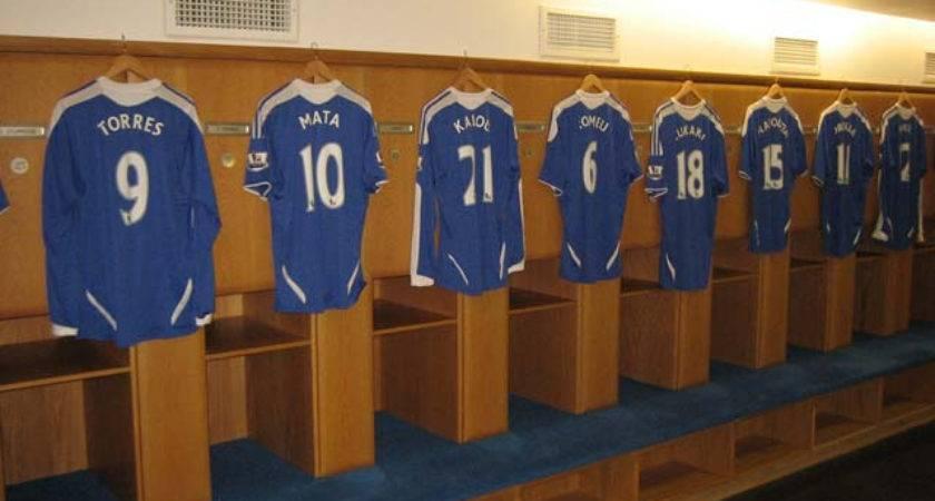 Chelsea Inside Home Locker Room Ron Speksnijder