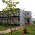China Assembled Eco Friendly Prefab Modular Green Homes Works Camp