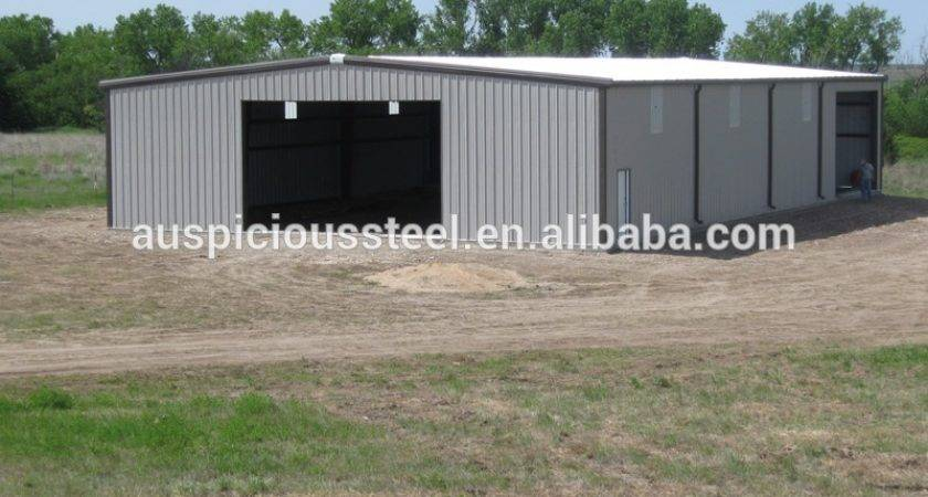 China Building Supplies Cheap Prefab Steel Structure Flat Pack Homes