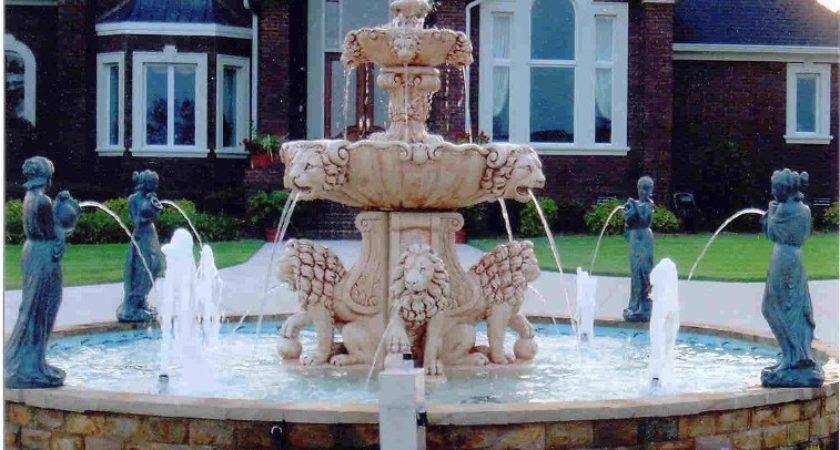 Choosing Right Outdoor Fountain Build House