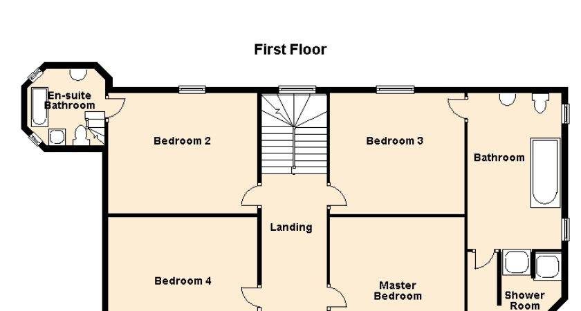 Classic French Chateaux Floor Plans