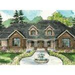 Classic House Plan Laurelwood Front Elevation