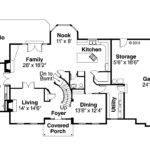 Classic House Plans Kersley Associated Designs