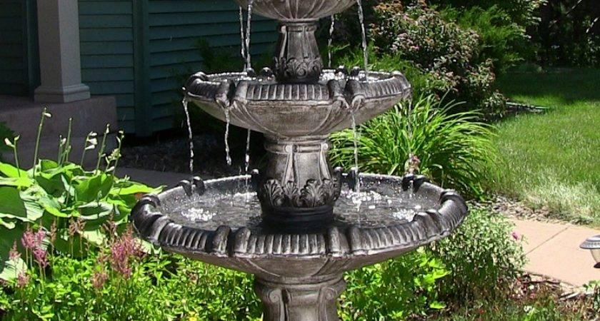Classic Pineapple Tier Fountain Sunnydaze Decor