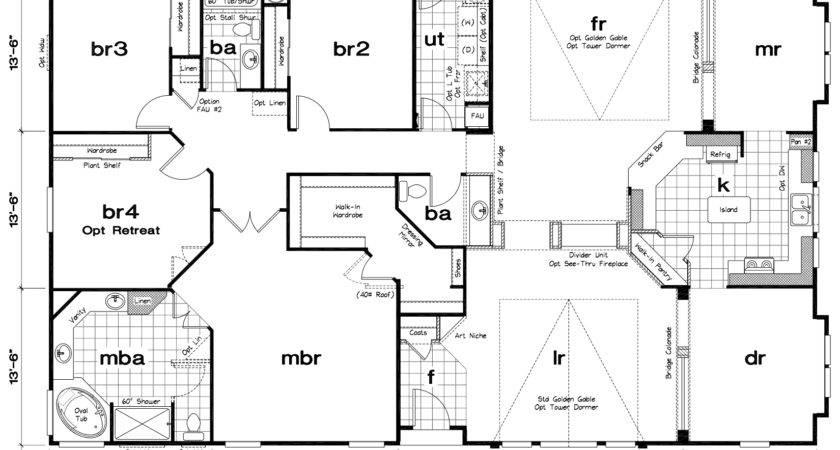 Classy Mobile Home Floor Plans Plan