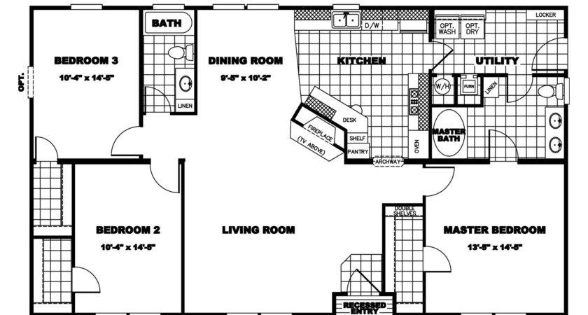 Clayton Homes Floor Plans House Mobile Bestofhouse