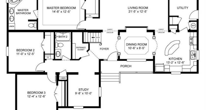 Clayton Homes Home Floor Plan Manufactured Modular