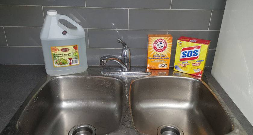 Clean Stainless Steel Sink Stains Naturally