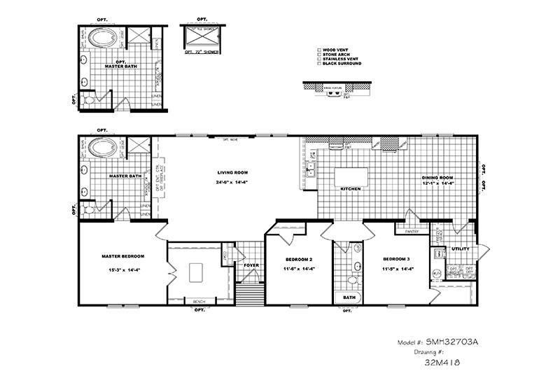 wiring house floor plan cmh schult tyler mobile home floor plan kaf mobile homes 57274  cmh schult tyler mobile home floor plan