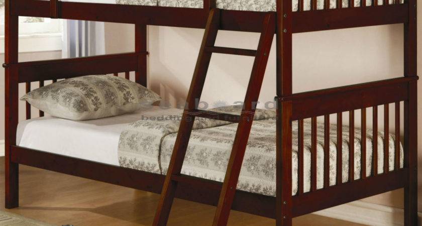 Coaster Parker Cappuccino Twin Bunk Bed