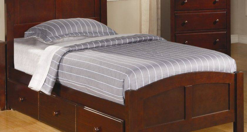 Coaster Parker Casual Twin Panel Bed Underbed Storage