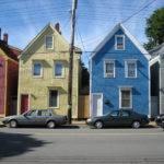 Colourful Halifax Houses Chebucto Road Quaint