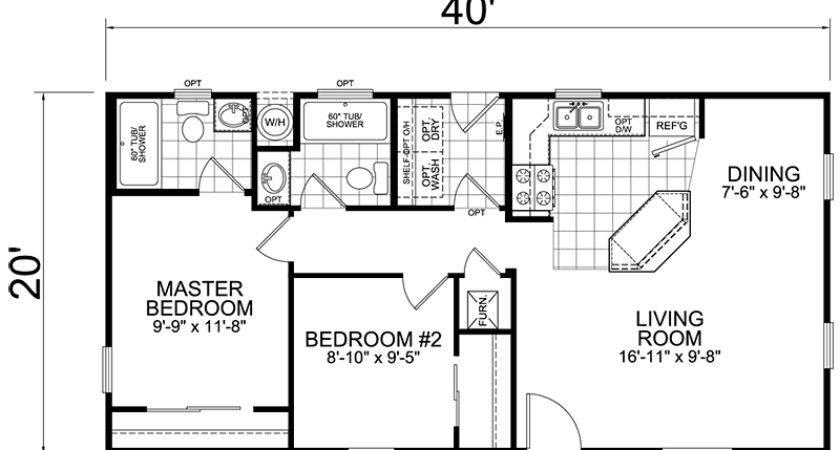 Comfortable House Trailer Floor Plans
