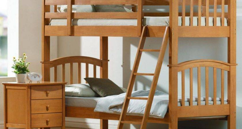 Complete Your Simple Bedroom Low Profile Bunk Bed