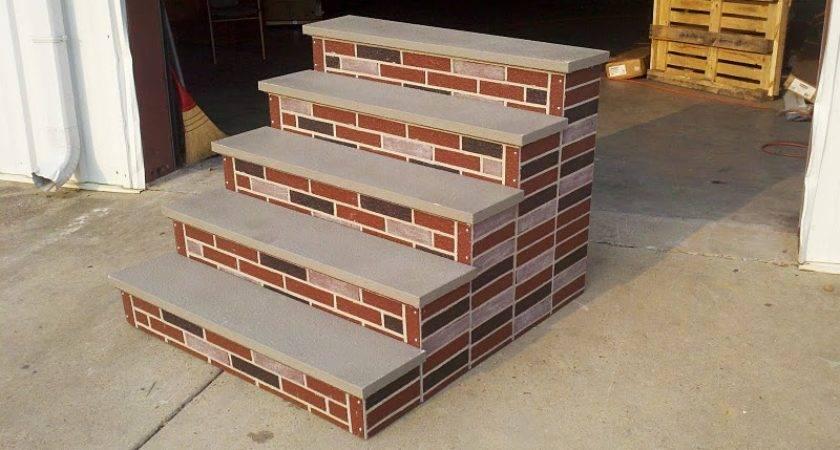 Concrete Porch Steps Decorative Entries