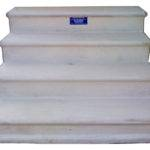 Concrete Steps Heavy Long Lasting Two Stepper