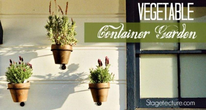 Container Gardening Start Vegetable Garden