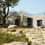 Contemporary Modular Homes Stones Staircase Outdoor Design Awants