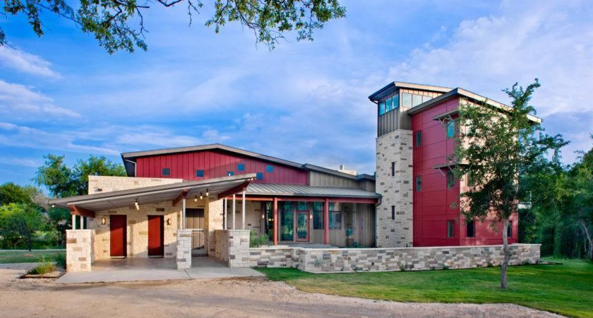 Contemporary Moody Ranch House James Larue Architects Texas