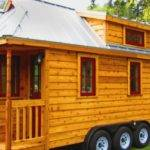 Cool Tiny Houses Wheels Interior Design Youtube