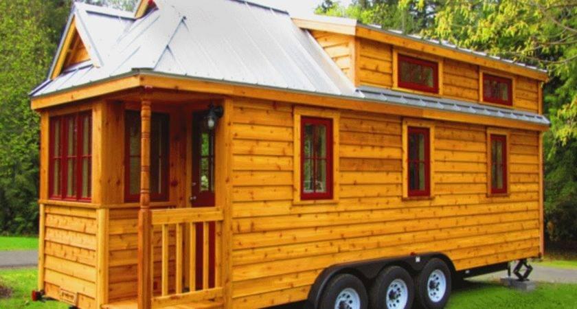Cool Tiny Houses Wheels Interior Design Youtube