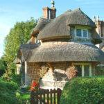 Cottage Homes Rounded Thatched Roof