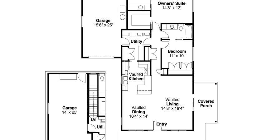 Cottage House Plan Branell Floor