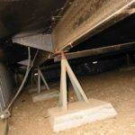 Crawl Space Tie Down Connection Structure Stem Wall