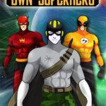 Create Your Own Man Superhero Super Hero Character