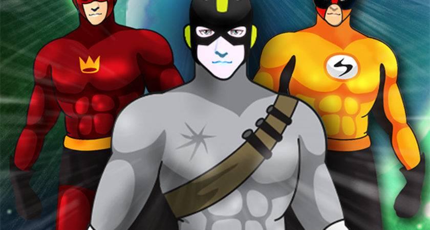 Create Your Own Man Superhero Super Hero Character