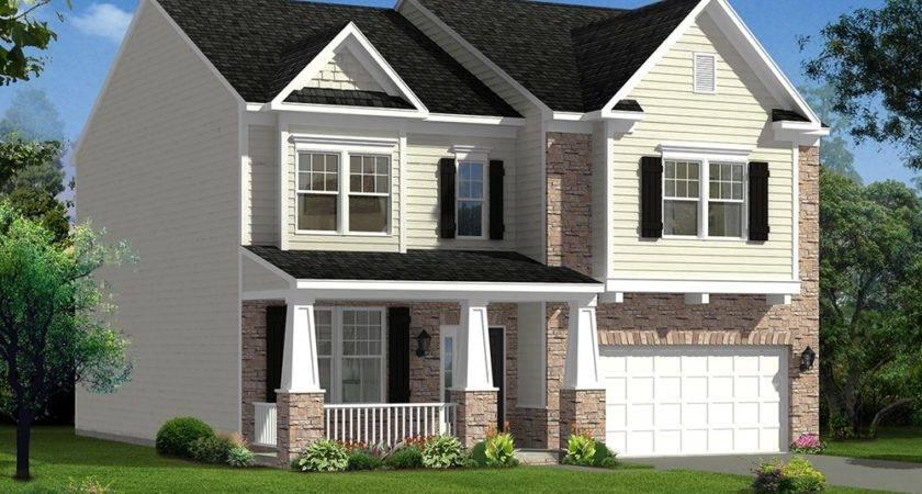 Cumberland Home Plan Dan Ryan Builders Mill Run