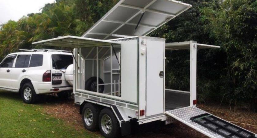 Custom Built Camper Bike Trailer Sale Atherton
