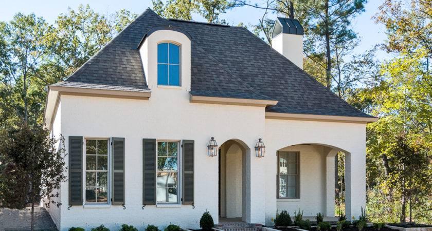 Custom Cottage Home Shreveport Front Homes
